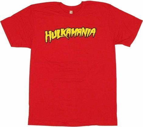 hulk hogan t shirt