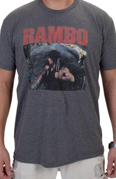 Knife Rambo Shirt