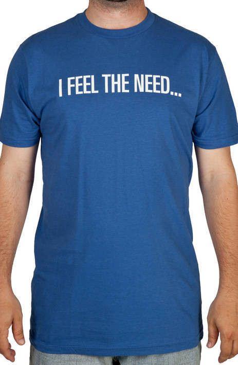 Top Gun Need For Speed Shirt