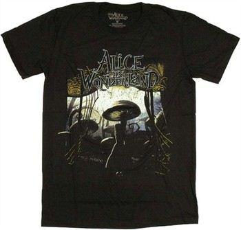 Alice in Wonderland Entrance T-Shirt Sheer