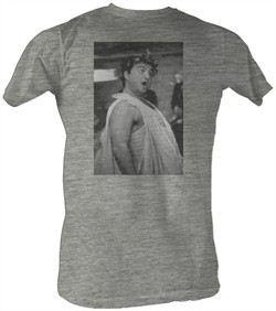 Animal House T-Shirt ? Toga Photo BW Adult Gray Heather Tee Shirt
