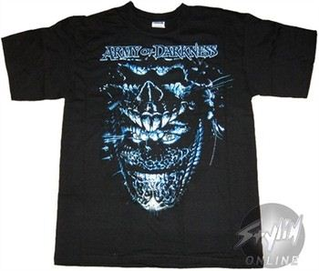 Army of Darkness Creepy Face T-Shirt
