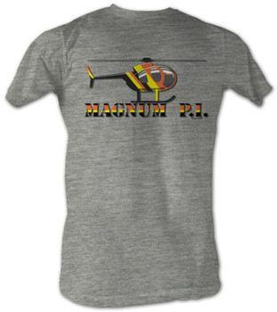 Magnum Pi - Chopper Toon