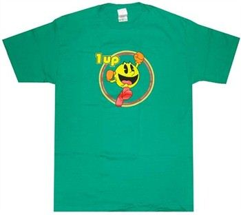Pac Man 1up T-Shirt