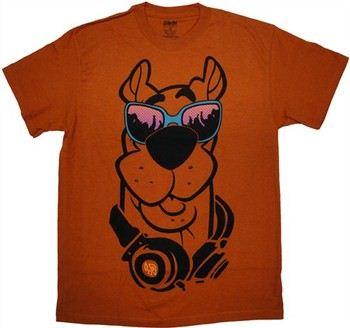 Scooby Doo Sunglasses Headphones T-Shirt