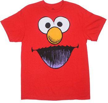 Smiling Elmo - Sesame Street T-shirt