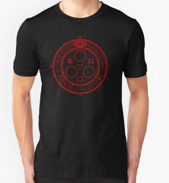 The Halo of the Sun (Red) T-Shirt by Greytel T-Shirt