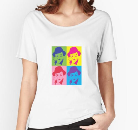 Murder, She Wrote Sticker Women's Relaxed Fit T-Shirt by magzmt T-Shirt