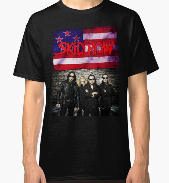 HALANGROY07 Skid Row Tour 2016 Classic T-Shirt by HALANGROY01 T-Shirt