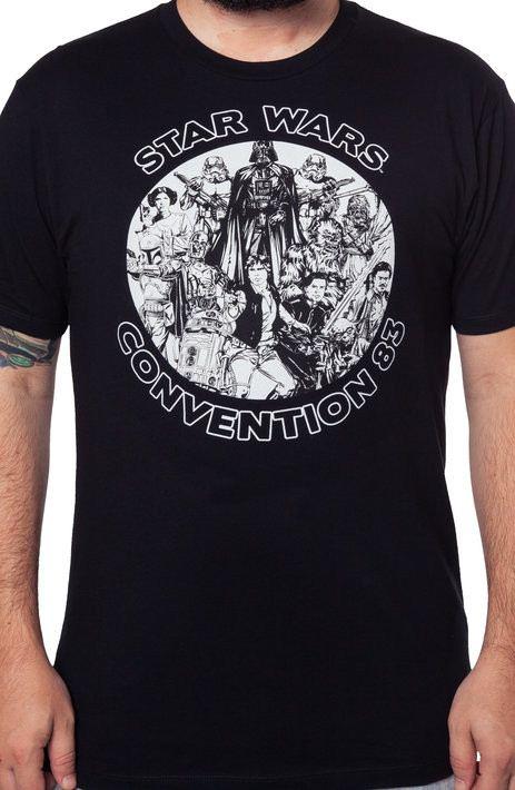 1983 Star Wars Convention Shirt