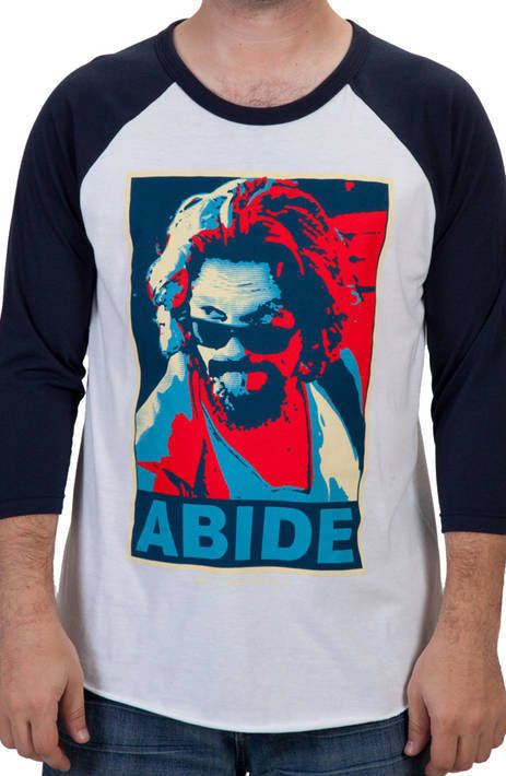 Abide Baseball Shirt