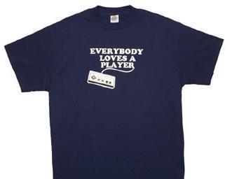 Nintendo Everybody Loves a Player T-shirt