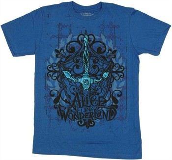 Alice in Wonderland Sword Crest T-Shirt Sheer