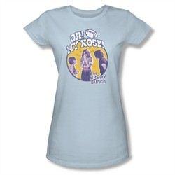 The Brady Bunch Shirt My Nose Juniors Shirt Tee T-Shirt