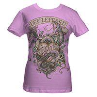 Def Leppard Love Bites Ladies Tee