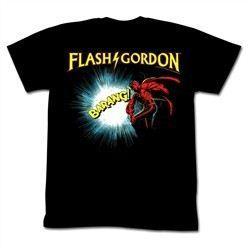 Flash Gordon Shirt Doin It Adult Black Tee T-Shirt