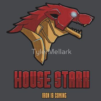 Game of Thrones / The Avengers - House Stark (Funny Iron Man Crossing)