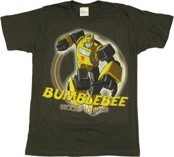 Transformers Bumblebee Second to None T-Shirt Sheer