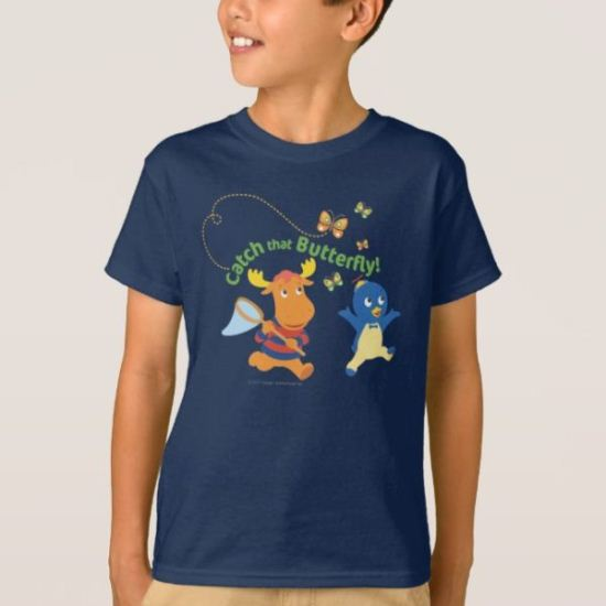 The Backyardigans | Catch That Butterfly T-Shirt