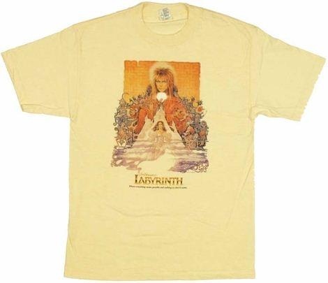 Labyrinth Poster T Shirt