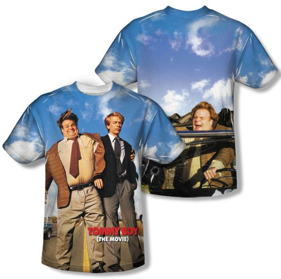 Tommy Boy Poster Sublimation Shirt Front/Back Print