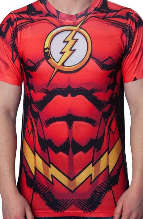 Flash Costume T-Shirt