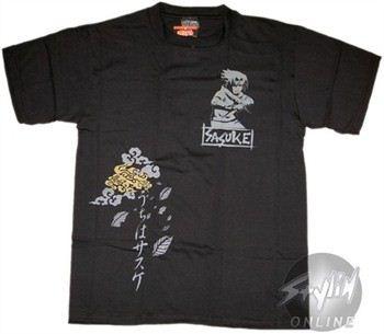 Naruto Sasuke Pocket T-Shirt