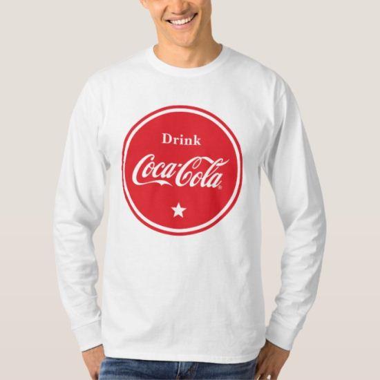 Drink Coca-Cola Badge T-Shirt