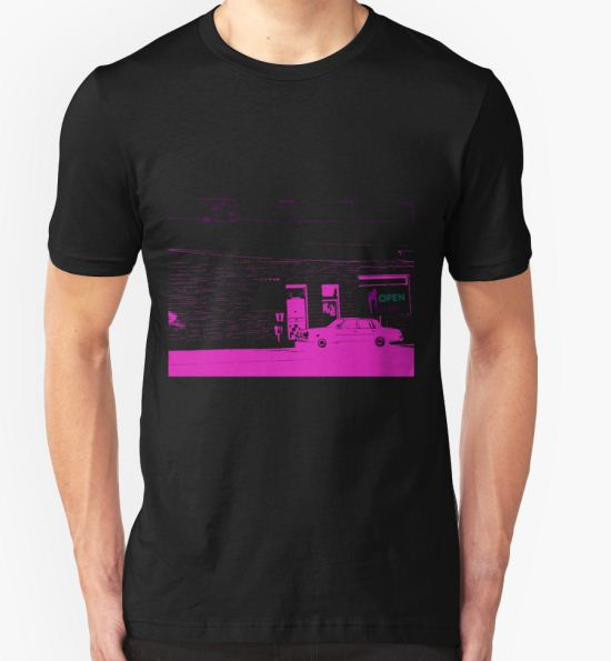 Urban Alley On Skid Row T-Shirt by Sacredcynwear T-Shirt