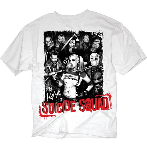 Suicide Squad Group Poster T-shirt