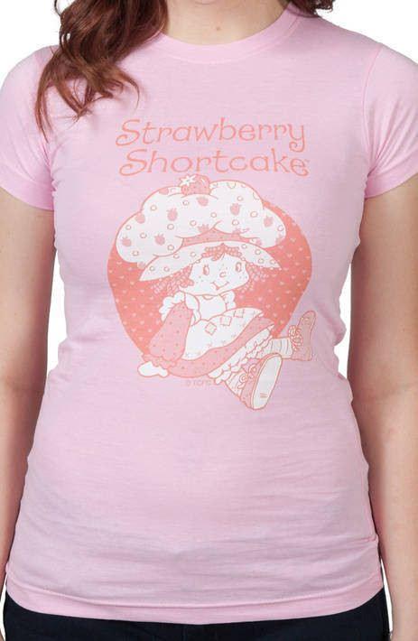 Sitting Strawberry Shortcake Shirt