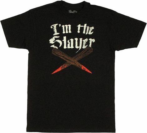 Buffy the Vampire Slayer I'm the Slayer T Shirt