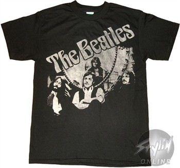 Beatles Group Glamour Music T-Shirt