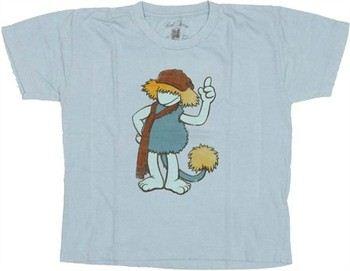 Fraggle Rock Boober Jersey Juvenile T-Shirt
