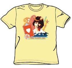 Love Boat Shirt Here To Serve Banana T-Shirt