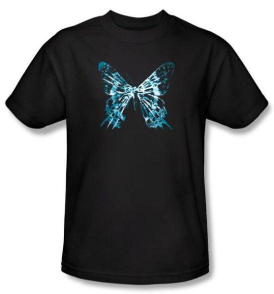 Fringe T-shirt TV Show Butterfly Glyph Adult Black Tee Shirt