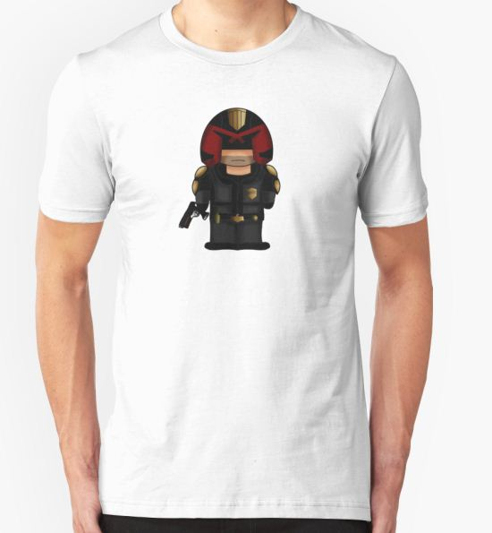 Dredd T-Shirt by PixelMouse T-Shirt