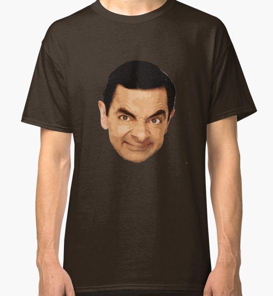 Mr. Bean Classic T-Shirt by Shahram Saadat T-Shirt