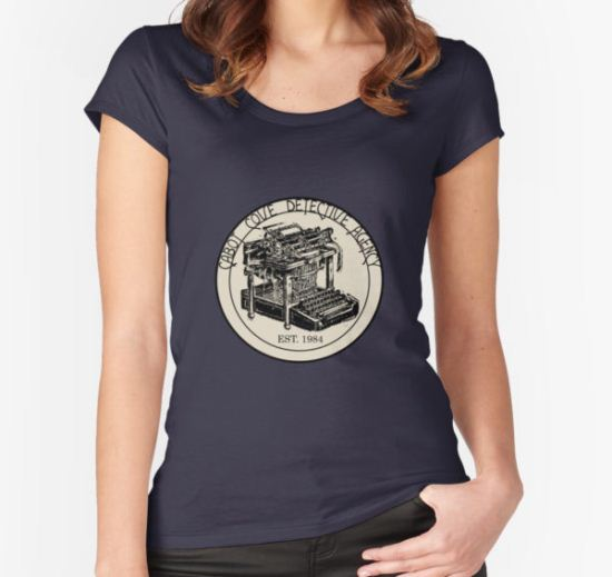 Cabot Cove Detective Agency Women's Fitted Scoop T-Shirt by cointreat T-Shirt