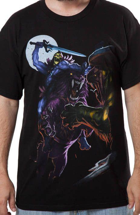 Skeletor Attacking T-Shirt