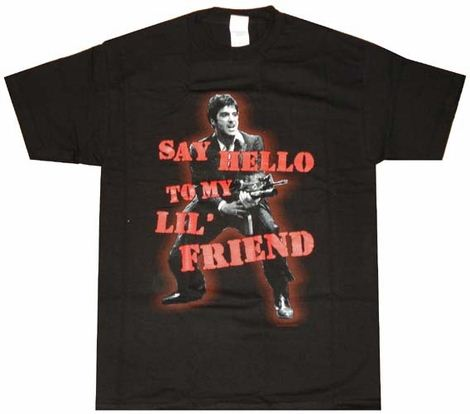 Scarface Say Hello T-Shirt