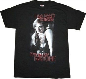 True Blood Jessica I Do Bad Things It's In My Nature T-Shirt