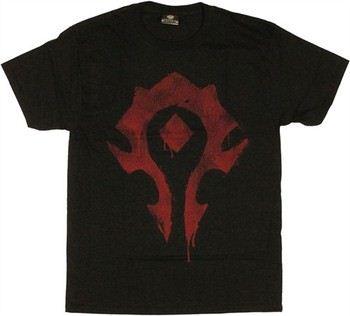 World of Warcraft Horde Spray Logo T-Shirt