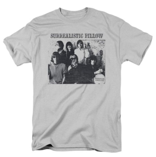 Jefferson Airplane Shirt Surrealistic Pillow Adult White Tee T-Shirt