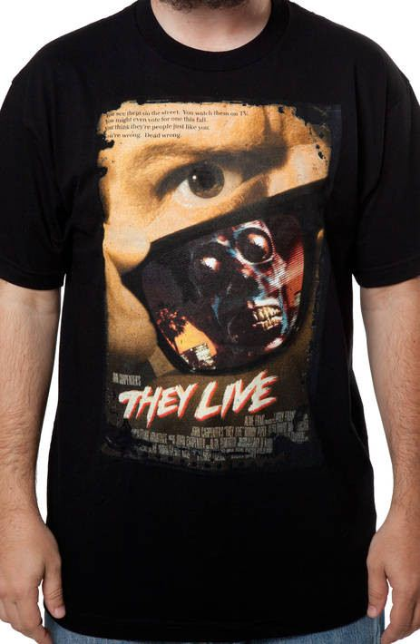 They Live Poster Shirt