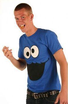 Sesame Street Cookie Monster Face T-shirt
