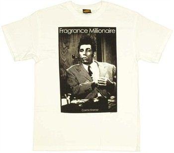 Seinfeld Cosmo Kramer Fragrance Millionaire T-Shirt