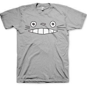 Cheshire Totoro Face - Grey (T-Shirt)