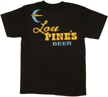 True Blood Lou Pine's Beer Sign T-Shirt