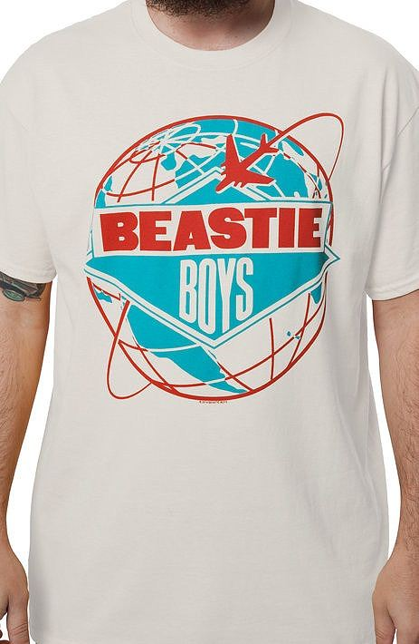 Beastie Boys License To Ill World Tour T-Shirt